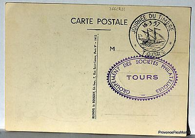 Briefmarken Cpa Stempel JournÉe Der Stempel 1957 Touren 266ca31 Online Rabatt Europa