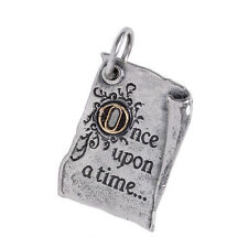 WAXING POETIC STORYBOOK ONCE UPON A TIME CHARM PENDANT Sterling Silver Brass