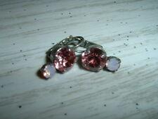 Sabika Pink Party 2 Stone Drop Earrings Retired