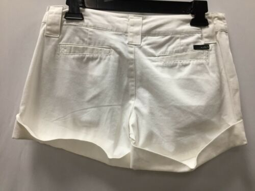 """Hurley Women/'s Shorts /"""" Lowrider/"""" Size 3--9 Color White"""