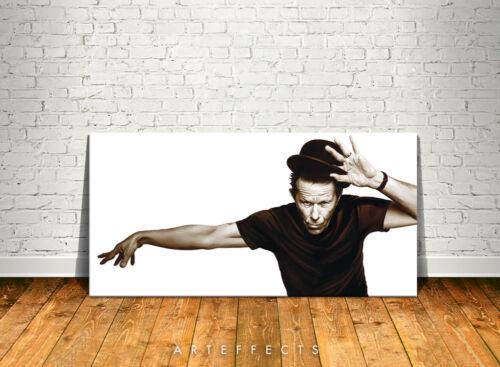 Tom Waits Canvas High Quality Giclee Print Wall Decor Art Poster Artwork