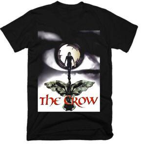 THE CROW,MOVIE,100% COTTON,MEN'S T-SHIRT.,E0424 - Bytom, Polska - THE CROW,MOVIE,100% COTTON,MEN'S T-SHIRT.,E0424 - Bytom, Polska