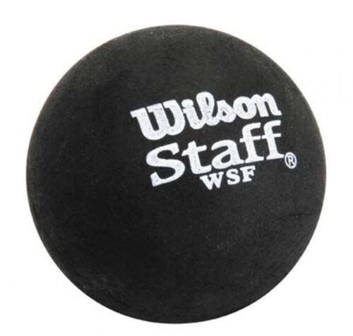 Authorized Dealer WILSON STAFF PREMIUM BLUE DOT SQUASH BALL beginner