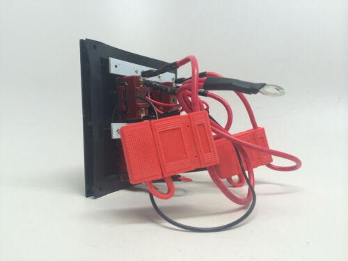 Marine LED Black Waterproof Switch Panel With Fuses 15Ax2 Neoprene Cap Switch x4