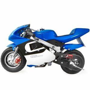 Xtremepowerus Gas Pocket Bike Motorcycle 40cc 4 Stroke Engine Ebay