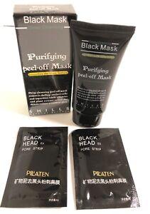 SHILLS-Black-Mask-Purifying-Peel-off-Mask-And-2-Pilaten-Black-Head-pore-Strip
