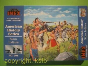 1-72-Imex-508-Wilder-Westen-Sioux-Indianer-Sitting-Bull-Schlacht-Little-Big-Horn