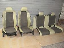 Sitze Sportsitze Teilledersitze Pistaziengrün  BMW E46 Compact + Türtafeln