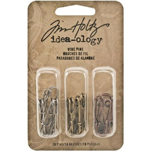 Idea-ology Wire Pins For Craft Projects Tim Holtz Ideaology