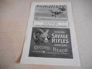 1904 MAGAZINE AD #A4-098 - SAVAGE RIFLES - LAFLIN RAND GUN POWDER