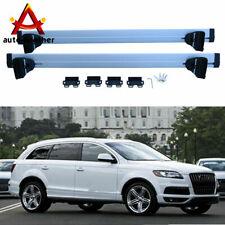 Thule Aluminium WingBar Evo Silver Roof Bars Set to fit Audi A7 10-18 Aero Pair