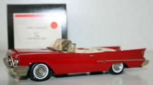Western-Models-1-43-Kims-Classics-N-1-1960-CHRYSLER-300F-Rosso