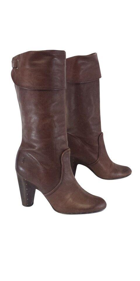 FRYE Women BETHANY Leather  Boots 8.5