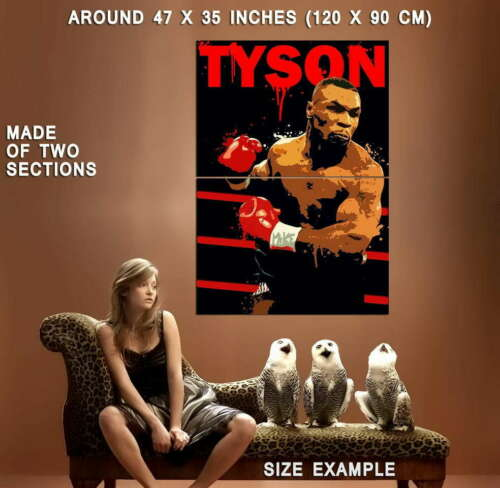 64659 Mike Tyson Wall Print POSTER CA