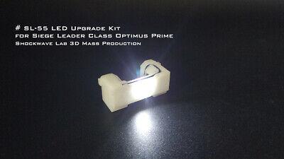 Shockwave Lab SL-55 LED upgrade kit for Siege Leader Class Optimus Prime!