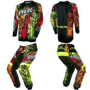 2017 O'Neal Element Vandal Motocross MX Dirtbike Gear Jersey Pants Combo