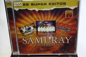 Samuray-Los-Super-Exitos-22-Super-Exitos-Music-CD-NEW