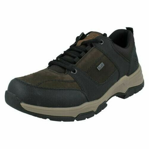 Mens Rieker Leather Shoes B4313