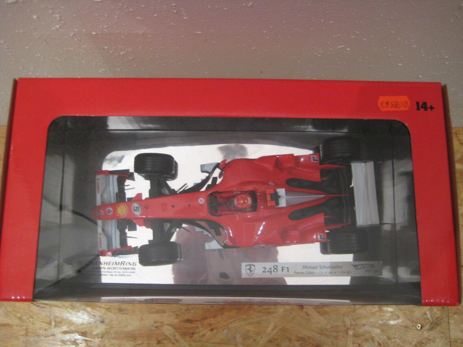 2006 RARO M. Schumacher Ferrari 248 f1 Premier Edition Evian GP Formula 1