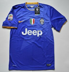 hot sale online 0433f 10e9b Details about AUTHENTIC JUVENTUS 2014-2015 , POGBA # 6 AWAY JERSEY , SMALL  , BNWT .