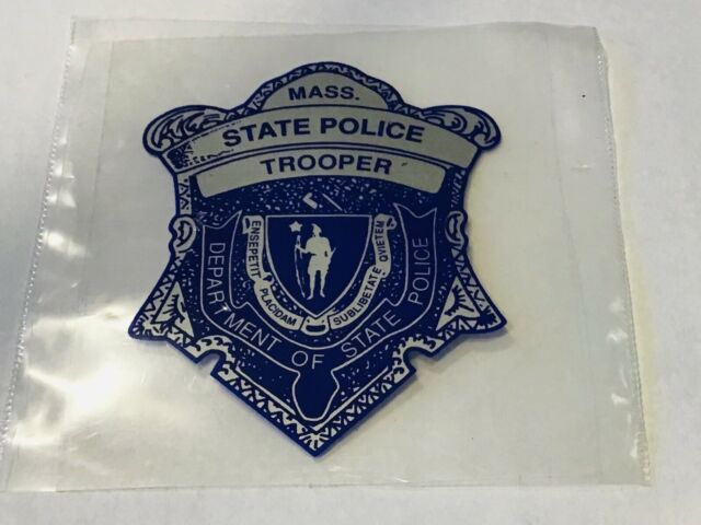 Massachusetts State Police Trooper Decal