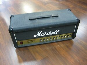 VINTAGE-1985-Marshall-Lead-100-Mosfet-Solid-State-Amp-Head-TESTED-AND-WORKS