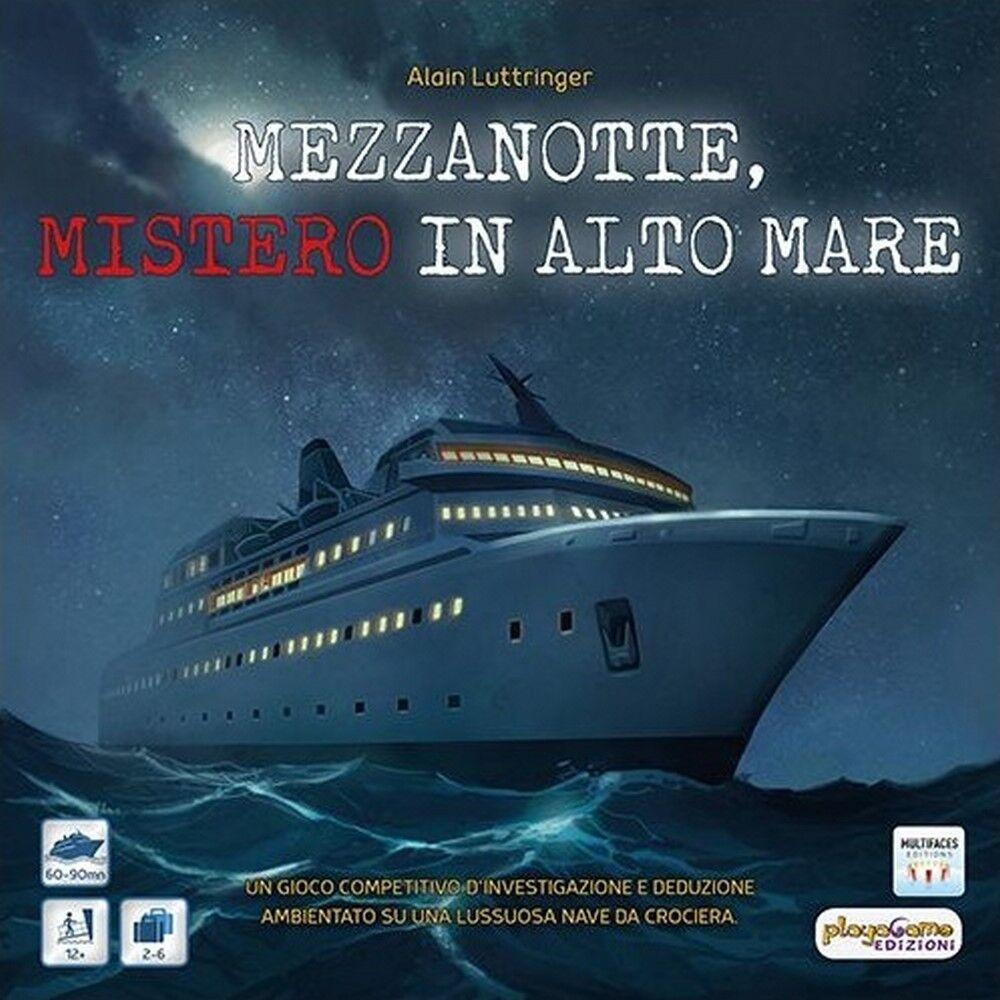MEZZANOTTE, MISTERO IN ALTO MARE Gioco da Tavolo in Italiano