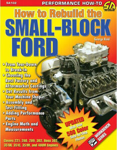 Rebuild-The-Small-Block-Ford-289-302-351-400-Color-Book