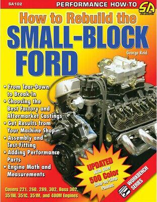 fits Ford SB 289 302 351 Windsor 1985-Up Billet Handle Engine Oil Dipstick