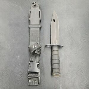Ontario Knife Co. M9 Fixed Blade Nylon Handle Combat Knife W/ Scabbard