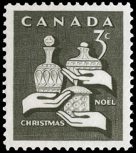 Canada-443-GIFTS-FROM-THE-WISE-MEN-New-Original-1965-Pristine-Gum