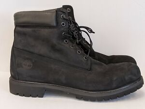 Nombre provisional Illinois Cilios  mens black timberland boots size 14 EXCELLENT CONDITION | eBay