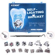 Azdent Dental Orthodontic Self Ligating Brackets Buccal Tube Roth022 Hooks 345