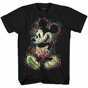 Disney-World-Mickey-Mouse-Disneyland-Tee-Graphic-T-Shirt-Funny-Adult-Mens-Retro