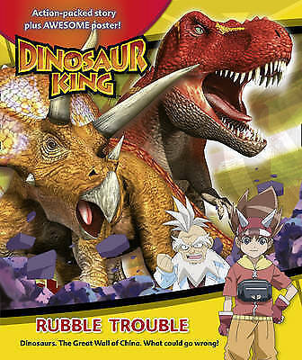 "1 of 1 - ""VERY GOOD"" Various, Dinosaur King – Rubble Trouble, Book"