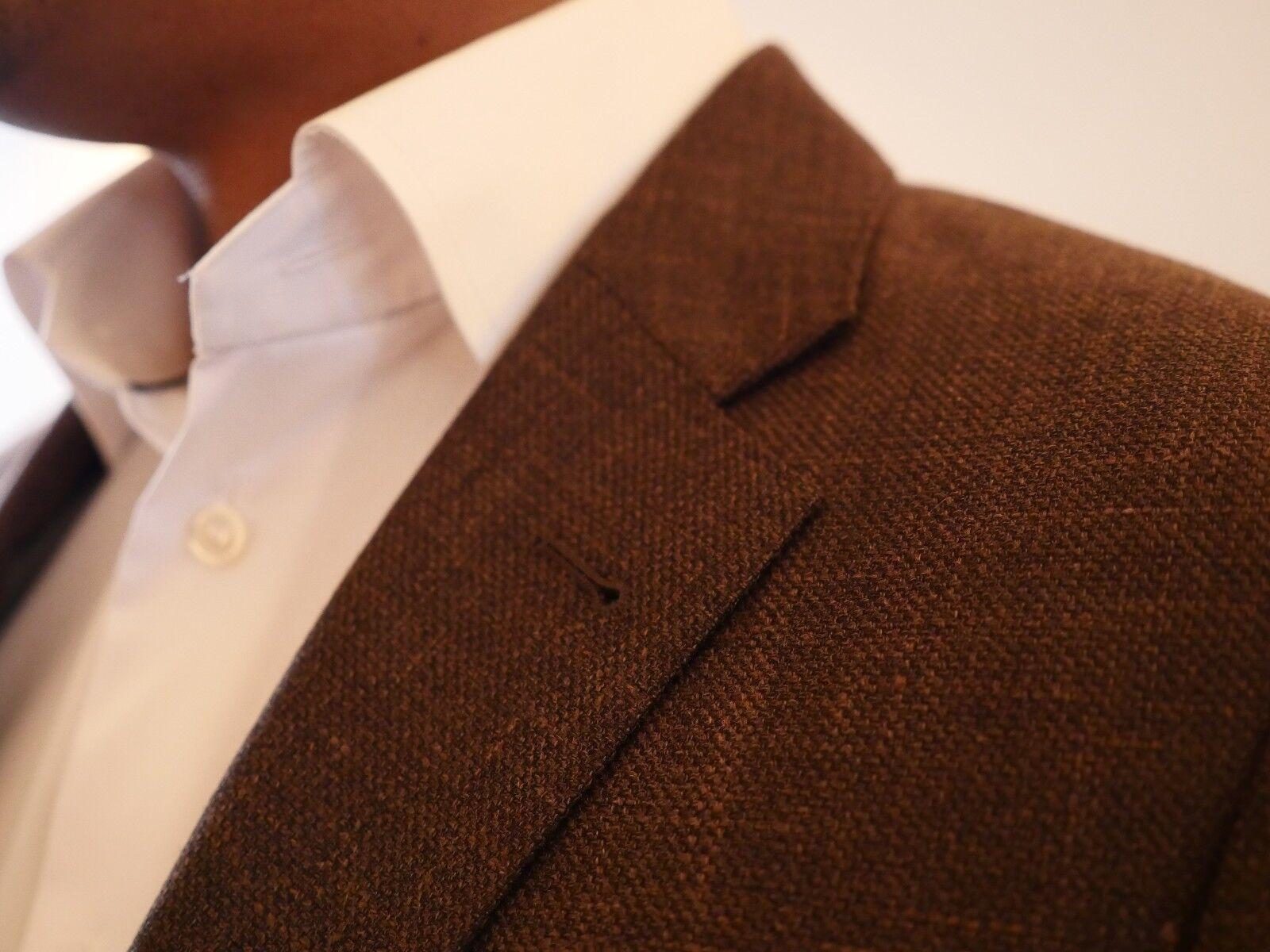 Wool Sakko Wolle/ Seide/ Leinen Größe 52