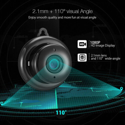 Wireless Mini WIFI IP Camera 1080P HD Smart Home Security Camera Night Vision