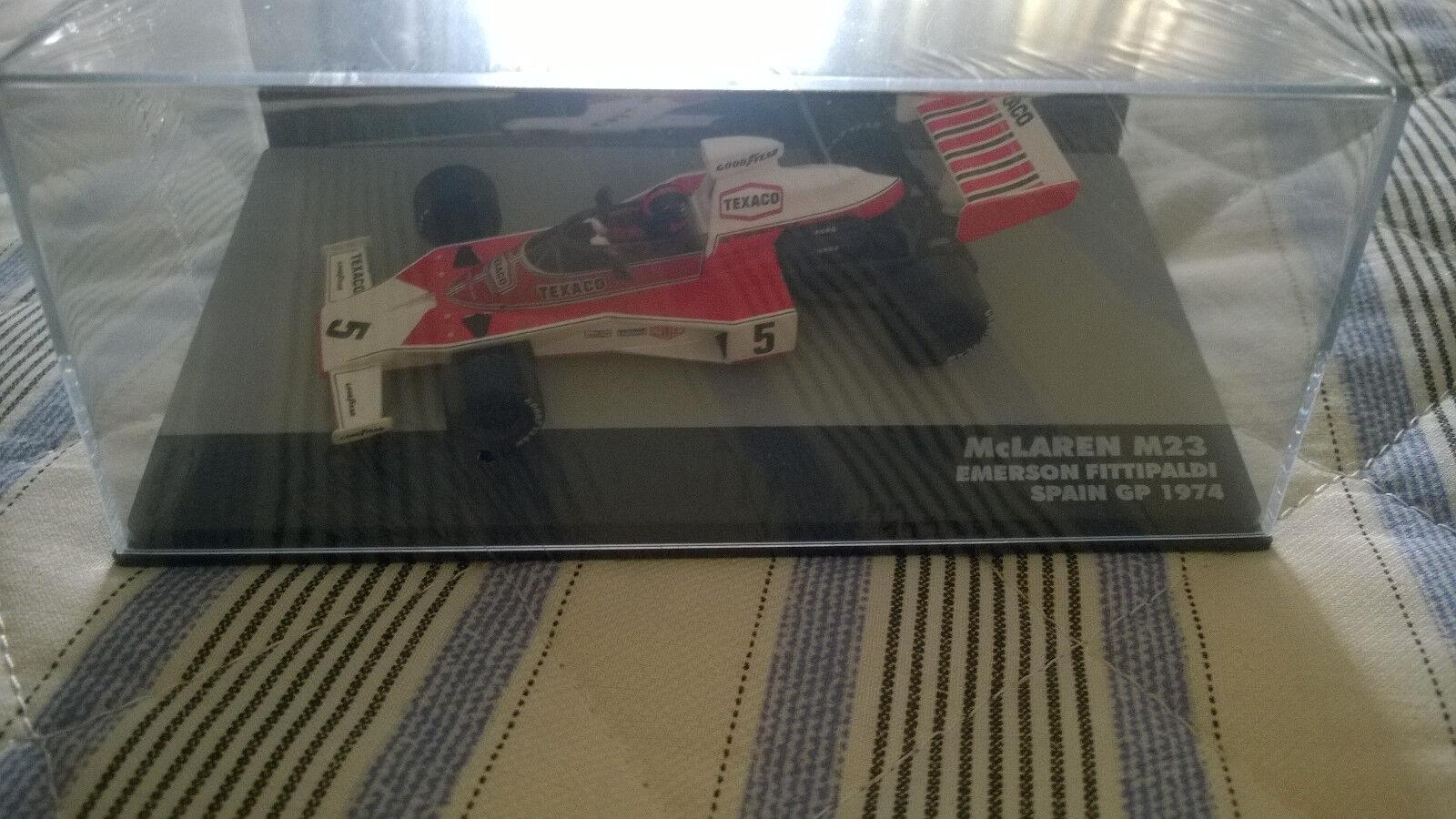 1974 McLaren M23 Eaglemoss 1 43 Emerson fiitipaldi
