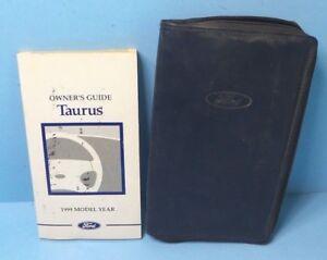 1999 ford taurus owner manual