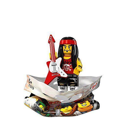 #17//20 Bagged 71019 Lego The Ninjago Movie GONG AND GUITAR ROCKER Minifigure