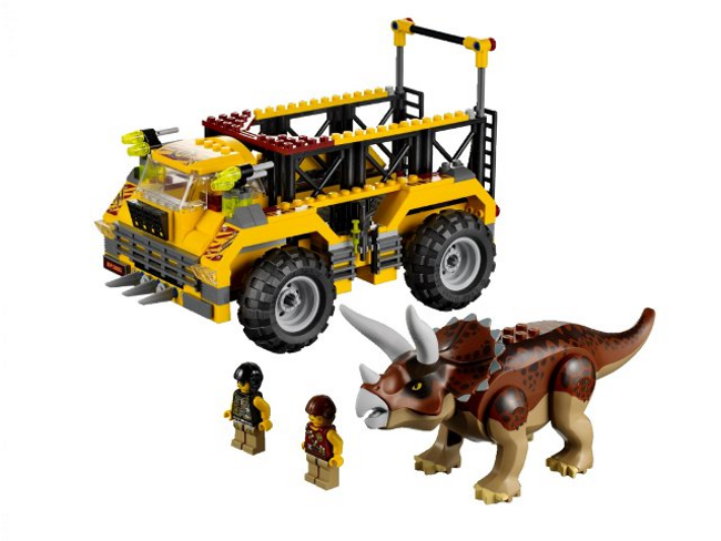 LEGO 5885 - Dino  Triceratops  Trapper - 2012 - NO scatola  edizione limitata a caldo