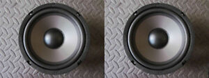 NEU-2-6-5-034-Woofer-Lautsprecher-4ohm-6-1-2-034-MTM-Ersatz-MIDs-Auto-Heim-Audio-Paar