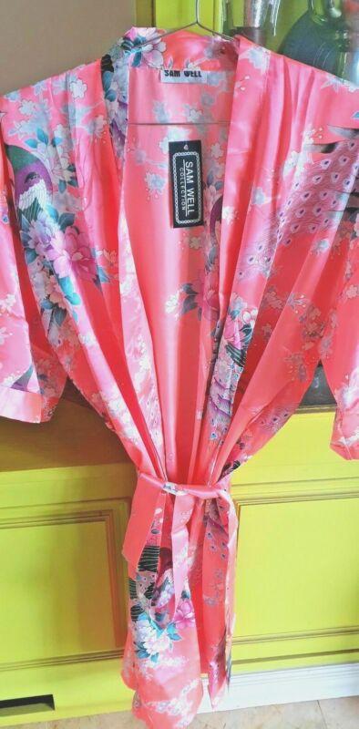 Kimono Morgenmantel Hausmantel Bademantel China Seide - Neu! Orig. Top Qualität! Attraktive Mode
