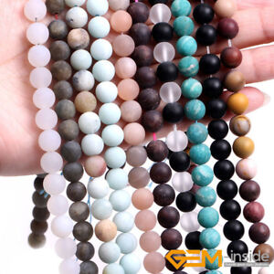 Natural Matte Multi-colored Hematite 6mm Frosted Gems Stones Round Ball Loose Spacer Beads 15 5 Strands/ Pack Back To Search Resultsjewelry & Accessories