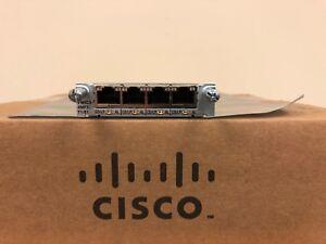 CISCO-VWIC3-4MFT-T1-E1-4-Port-T1-E1-Multiflex-Trunk-Voice-WAN-Interface-Card
