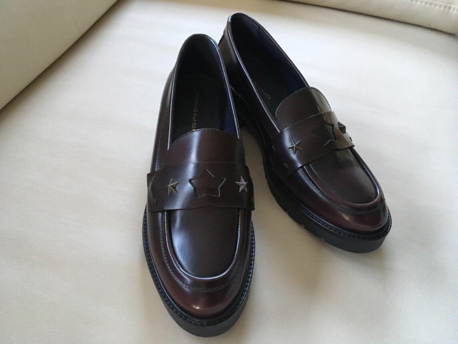 Tommy Hilfiger Damen Schuhe, Gr.39, Neu  | Merkwürdige Form