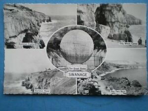 POSTCARD-RP-DORSET-SWANAGE-MULTI-VIEW