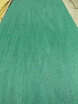 """Blue Poplar Dyed wood veneer 8/"""" x 110/"""" raw no backing 1//42/"""" thickness A grade"""