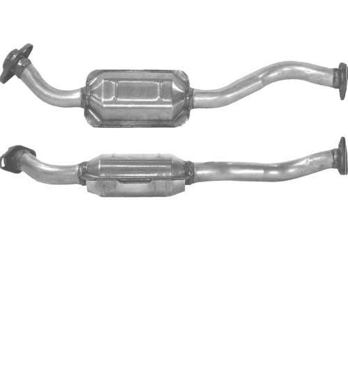 1x Replacement Exhaust Petrol Catalytic Converter Type Approved Cat