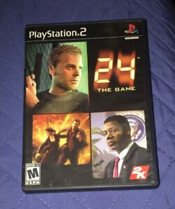24-The-Game-For-Playstation-2-With-Original-Manual-amp-Case-100-Authentic